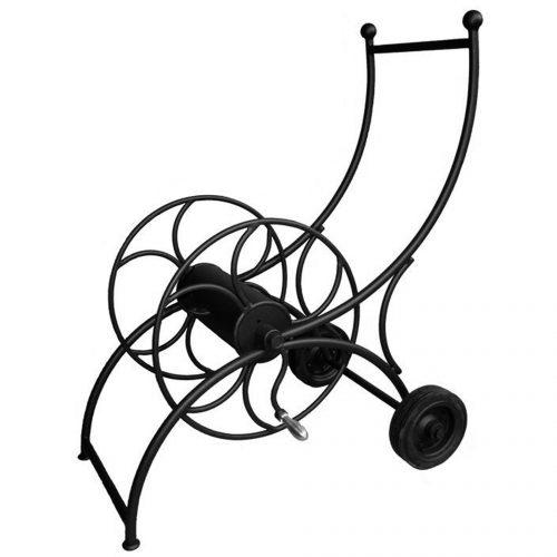 enrouleur sur roues pour tuyau d'arrosage